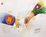 ASEAN leaders are ready to handshake with world's top criminal Min Aung Hlaing who killed more than 728 civilians.It's insulting our fallen heroes. from nandar hlaing