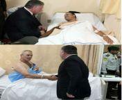 Jordan's king Abdullah II bin Al-Hussein visiting injured victims of the 2015 Amman police shooting that left 6 people dead and 5 injured. November 9, 2015. from sreejita de xxx nu8 5 2015 sex video xxn co